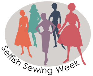 selfish sewing week is back! || imagine gnats
