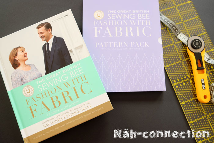 Book review: Great British Sewing Bee Fashion with Fabric (on Näh-Connection)