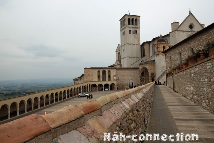 Assissi (Travel-Tip for Italy by Näh-Connection)