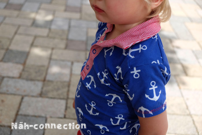 Perfect Polo by Blank Slate Patterns sewn by Näh-Connection