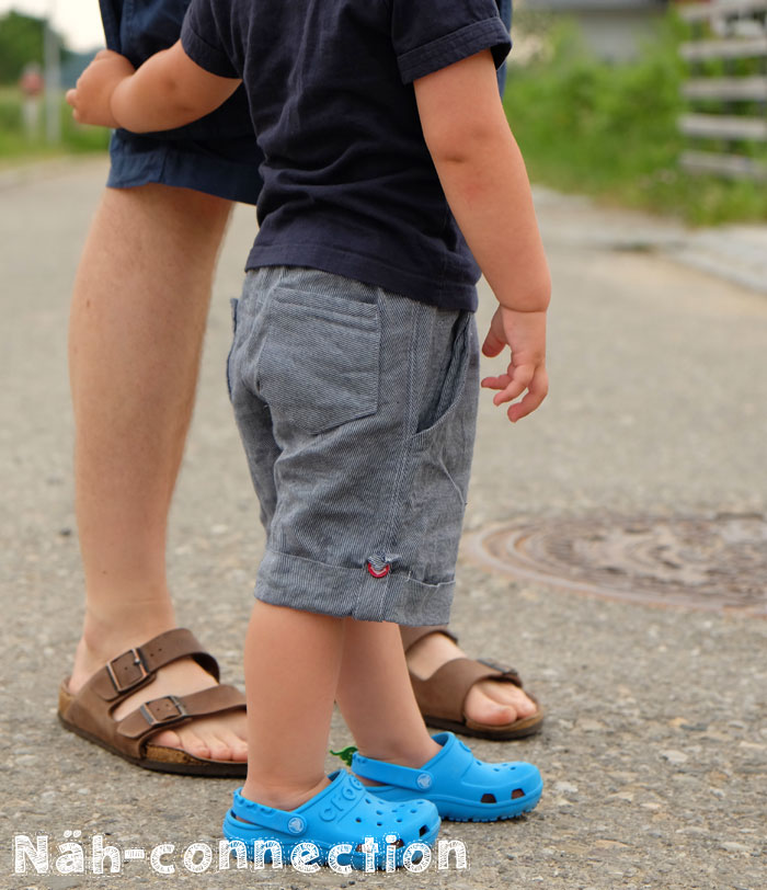 Sew Chic Kids: Roll-up shorts