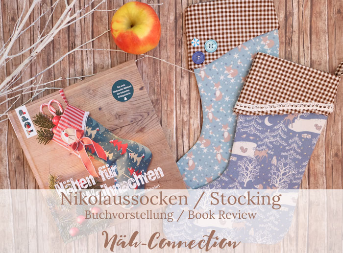 Nikolaussocken / Stocking - Buchvorstellung / Book Review by Näh-Connection