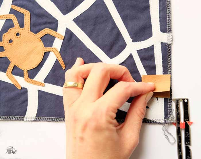 Tutorial: Spinnenetz-Turnbeutel / Spiderweb Drawstring Backpack