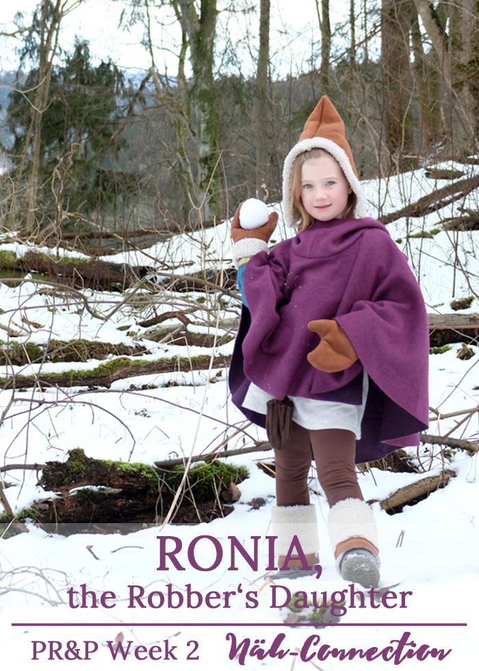 Project Run and Play, Season 11, Week 2: Ronia, the Robber's Daughter - a cosplay inspired outfit designed by Näh-Connection