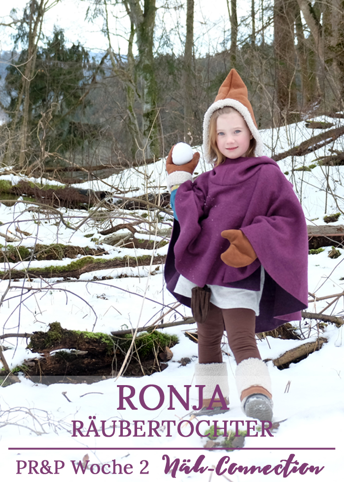 Project Run and Play, Staffel 11, Woche 2: Ronja Räubertochter - ein Cosplay inspiertes Outfit von Näh-Connection