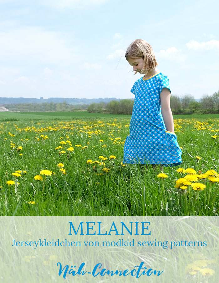 Näh-Connection: Jerseykleidchen Melanie von modkid sewing patterns