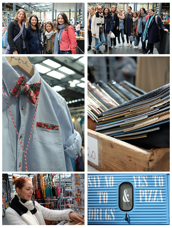 London Sew Social: When bloggers become friends and explore the fascinating capital