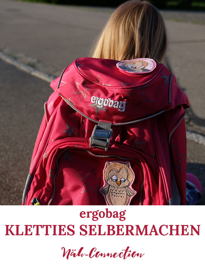ergobag Kletties selbermachen: Tutorial von Näh-Connection