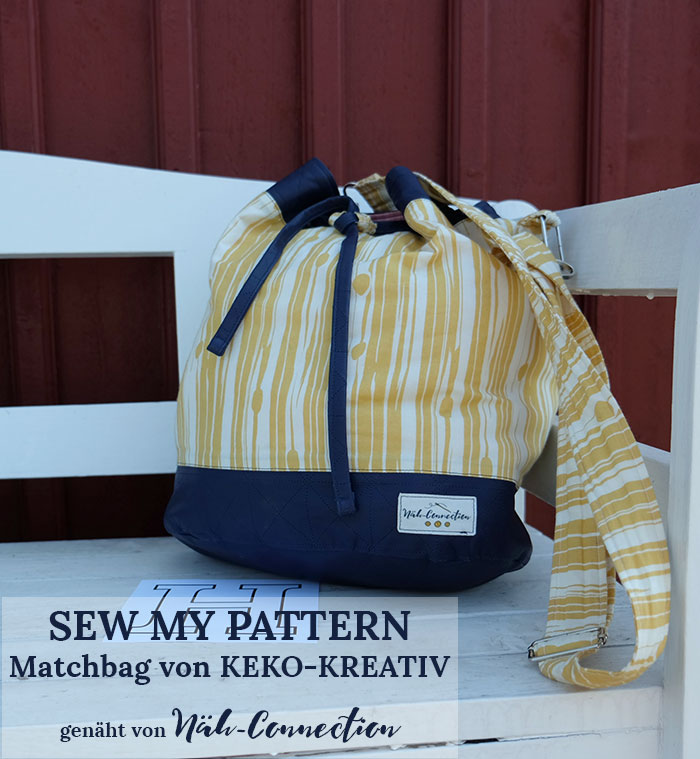 Sew My Pattern: Matchbag von KEKO-KREATIV genäht von Näh-Connection