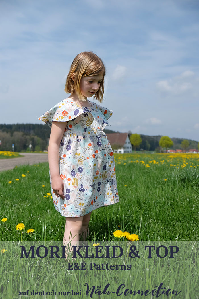 Neu im Näh-Connection Shop: Mori Kleid und Top von E&E Patterns