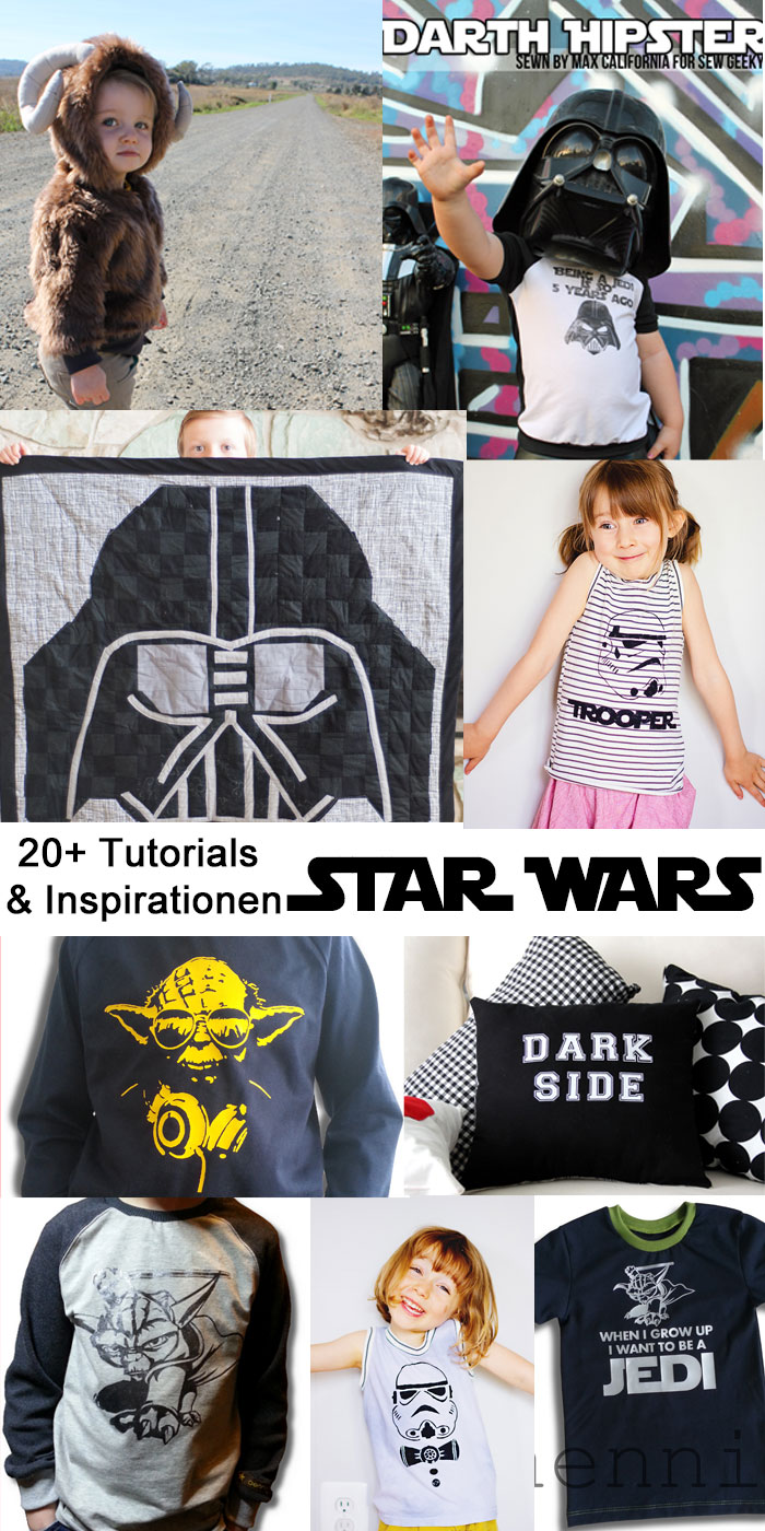 Star Wars Nähnerdinspirationen: 20+ Tutorials