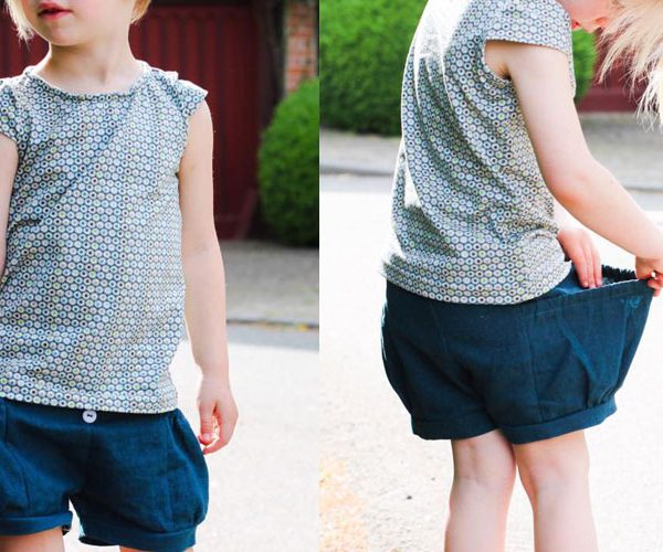 Bubble Pocket Shorts von E & E Patterns: Auf deutsch nur bei Näh-Connection