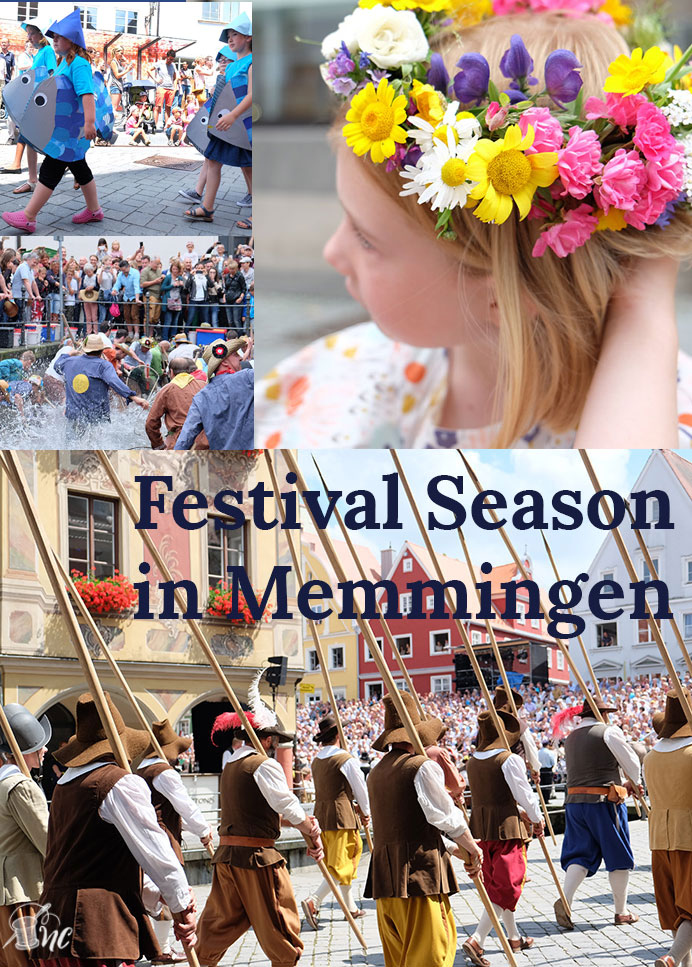Festival Season in Memmingen: Kinderfest, Fischertag, Wallenstein