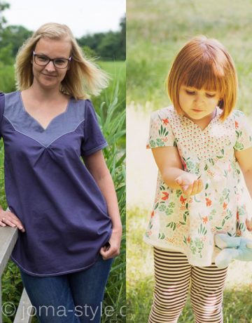Näh-Connection: Wanderer Tunic (Kombi für Mädchen und Frauen, Ebook von Striped Swallow Design, auf Deutsch nur bei Näh-Connection)