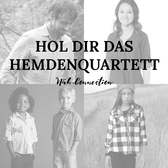 Neu im Näh-Connectionshop: Hemdenquartett