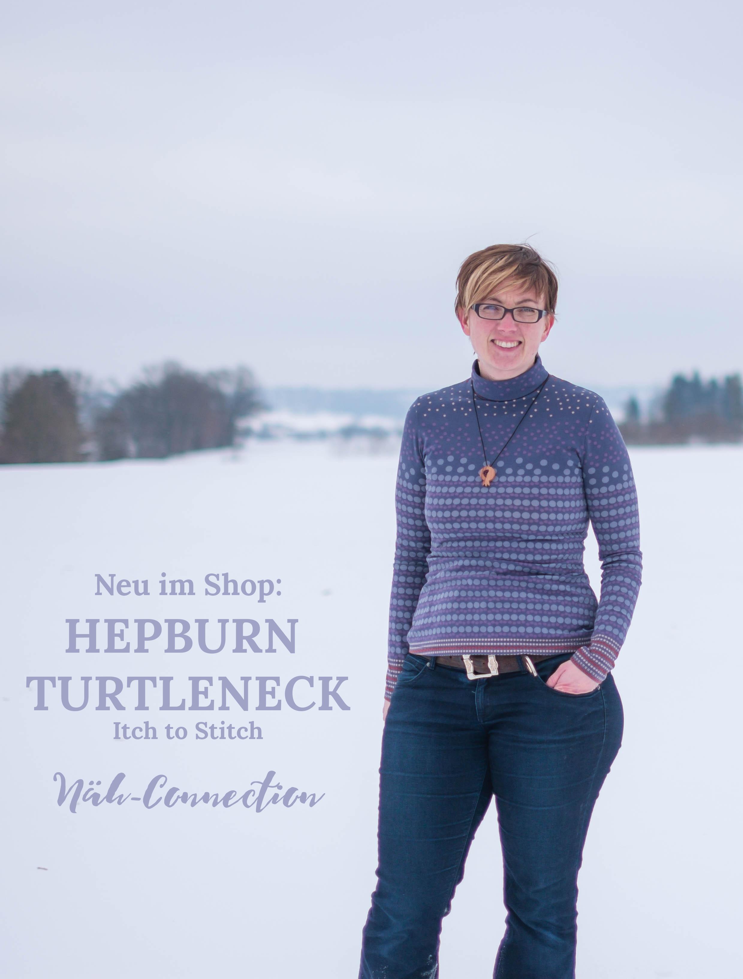 Näh-Connection: Hepburn Turtleneck von Itch to Stitch - auf Deutsch neu im Näh-Connection Shop