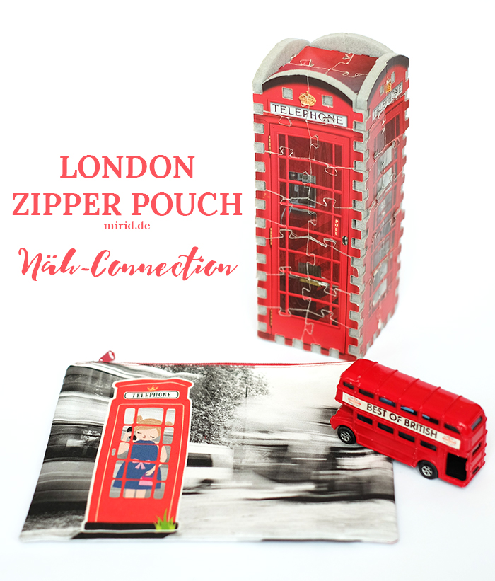 Näh-Connection | London zipper pouch à la mirid.de
