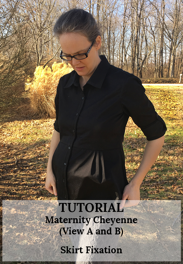 Maternity Cheyenne: Tutorial by Skirt Fixation