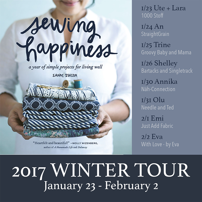 Näh-Connection: Sewing Happiness Winter Tour 2017 - Tooth Fairy Pillow