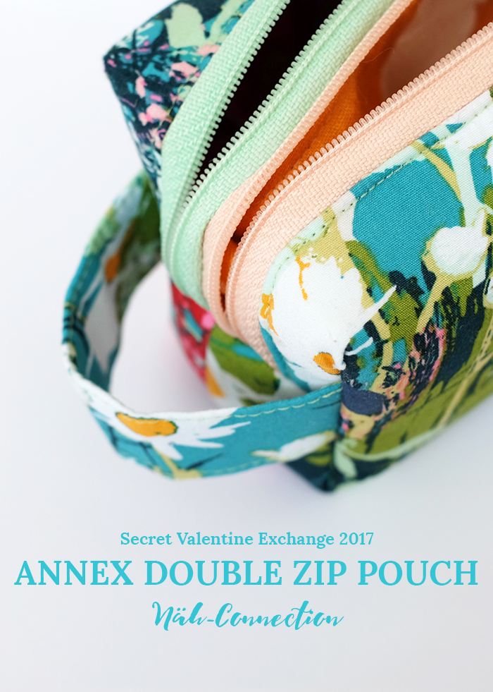Näh-Connection | Annex Double Zip Pouch (Secret Valentine Exchange)