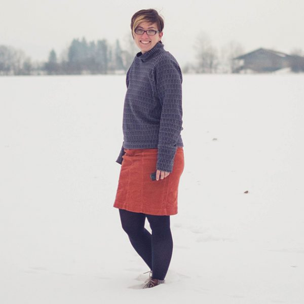 Toaster Sweater #1 in gorgeous soft jacquard