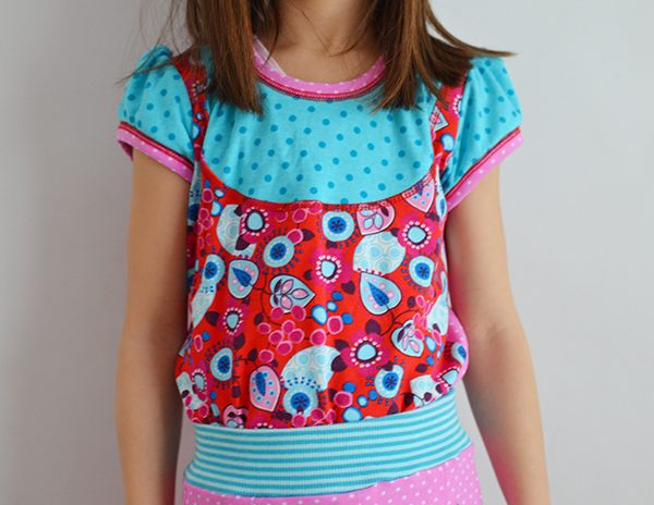 Näh-Connection | Lina Vintage Girls Shirt PDF Pattern by ki-ba-doo in english translation