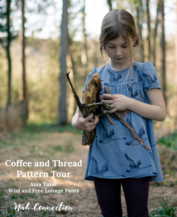 Näh-Connection | Coffee and Thread Pattern Tour - Ania Tunic and Wild and Free Lounge Pants