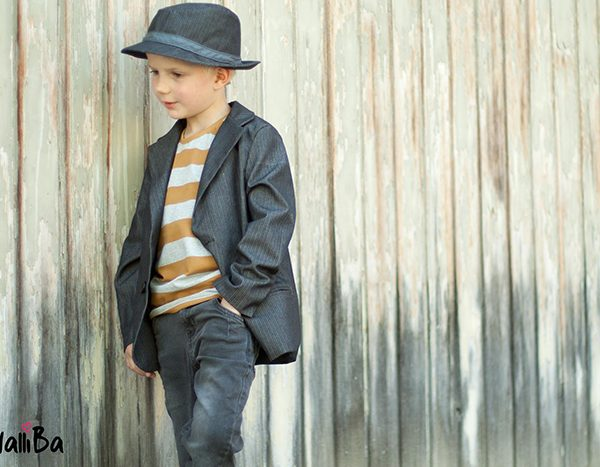 Näh-Connection | Boys will be Boys Schnittpaket: Basic Blazer von Blank Slate Patterns genäht von Walliba