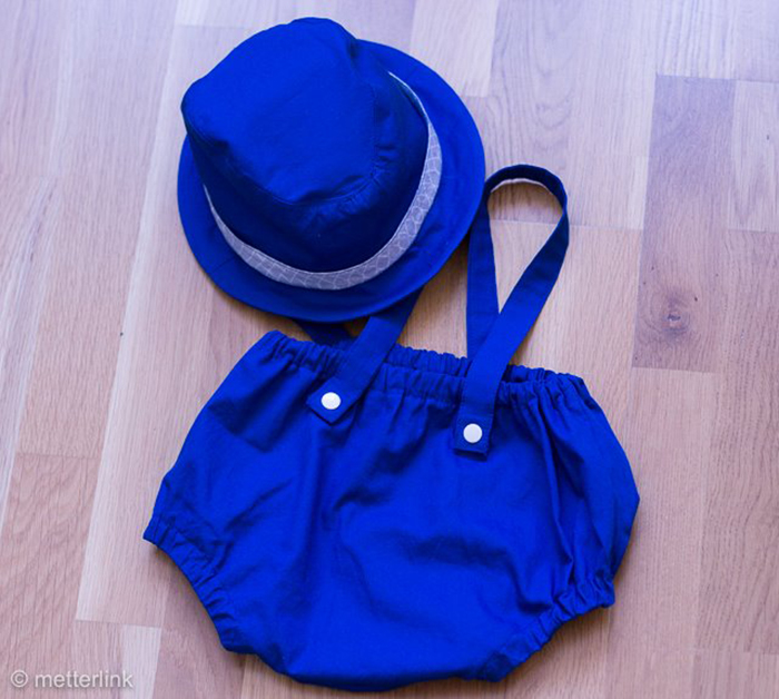 Näh-Connection | Boys will be Boys Schnittpaket: Fedora Hat von E&E Patterns genäht von metterlink