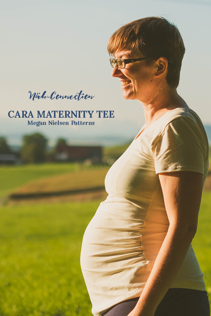 Näh-Connection: Cara Maternity Tee by Megan Nielsen Patterns