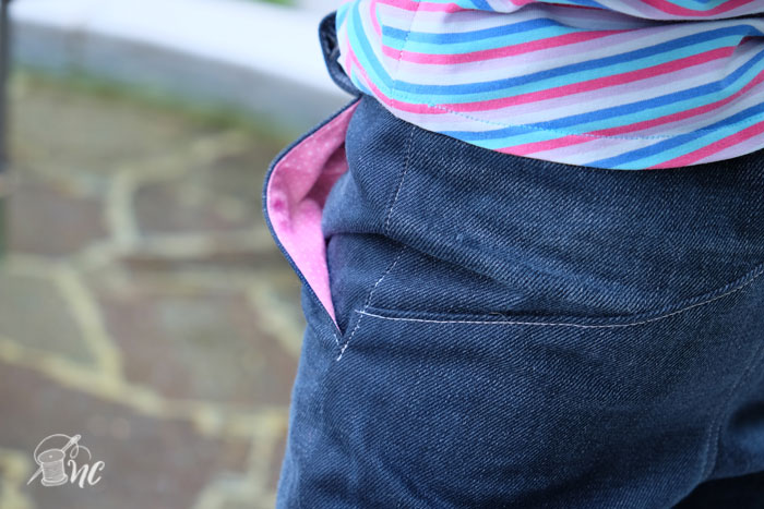 W Pants by Blank Slate Patterns sewn by Näh-Connection