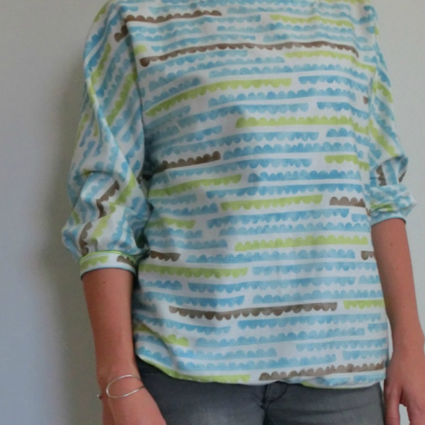 Twist (it) Blouse - english translation by Näh-Connection
