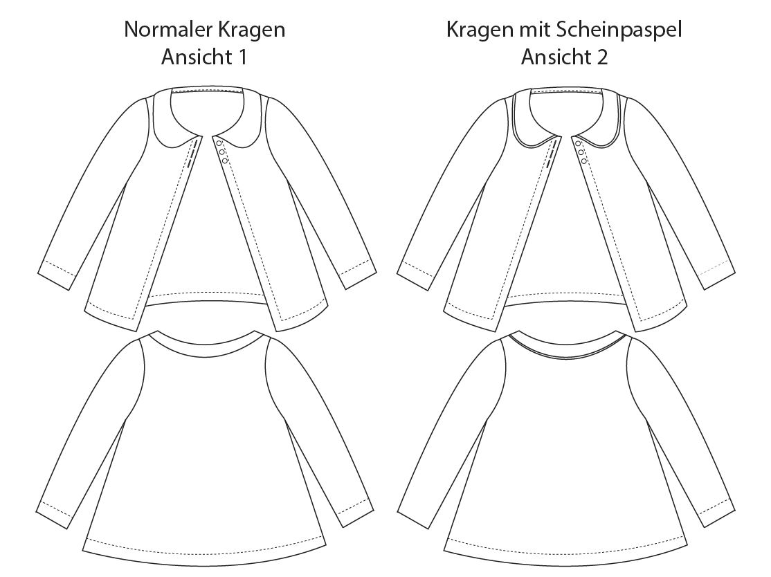 Aster Cardigan (Ebook von LBG Studio, auf Deutsch nur bei Näh-Connection)