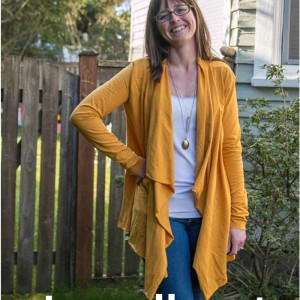 Laurelhurst Cardigan in deutscher Übersetzung von Näh-Connection