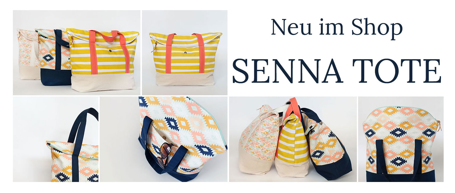 Senna Tote von LBG Studio: Neu im Näh-Connection Shop