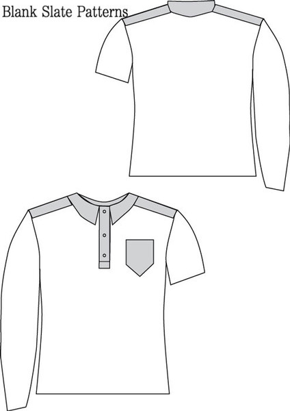Perfect Polo von Blank Slate Patterns - in deutscher Übersetzung nur bei Näh-Connection