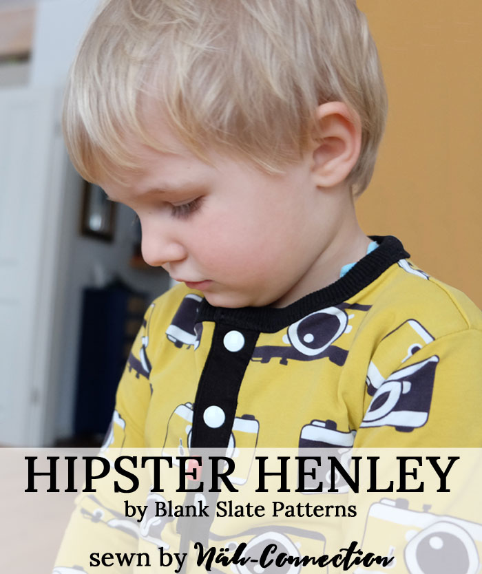 Hipster Henley, a Blank Slate Pattern sewn by Näh-Connection