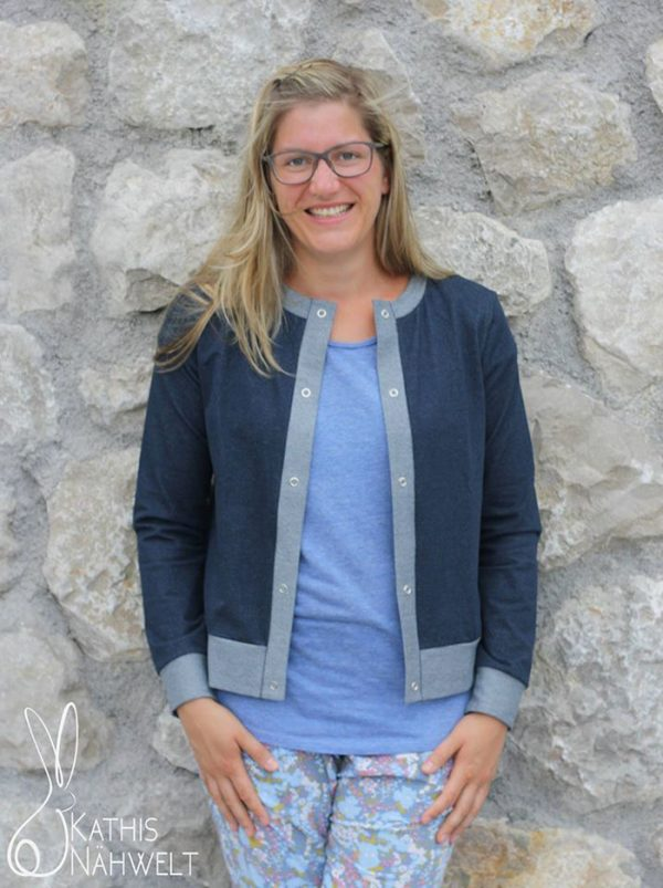 Lisbon Cardigan: Ebook von Itch to Stitch in deutscher Übersetzung
