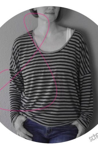 Just another tee: pdf sewing pattern by schneidernmeistern in english translation