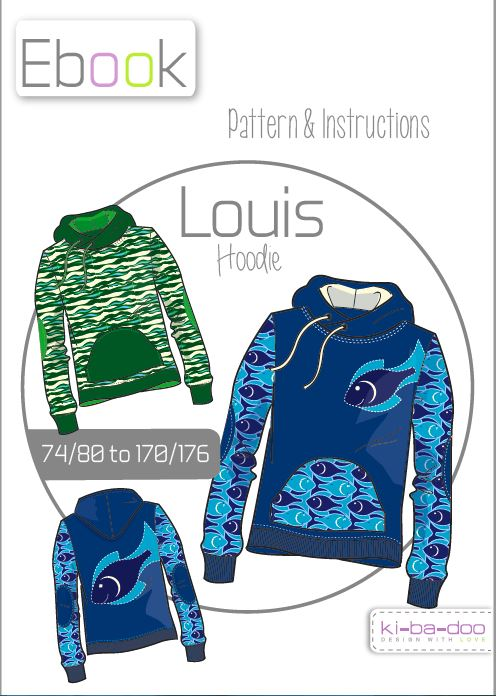 Louis: german pdf pattern in english translation | Näh-Connection Shop