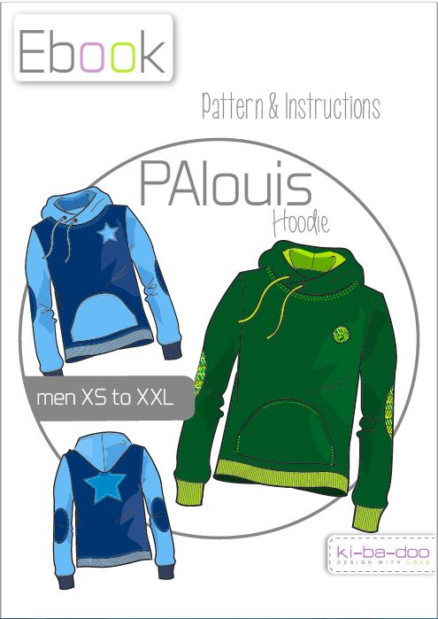 PAlouis: german pdf pattern in english translation | Näh-Connection Shop