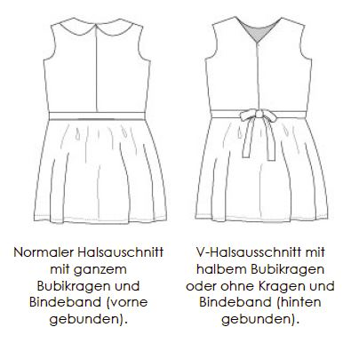 Tic Tac Toe Dress: deutsche Version | Näh-Connection Shop