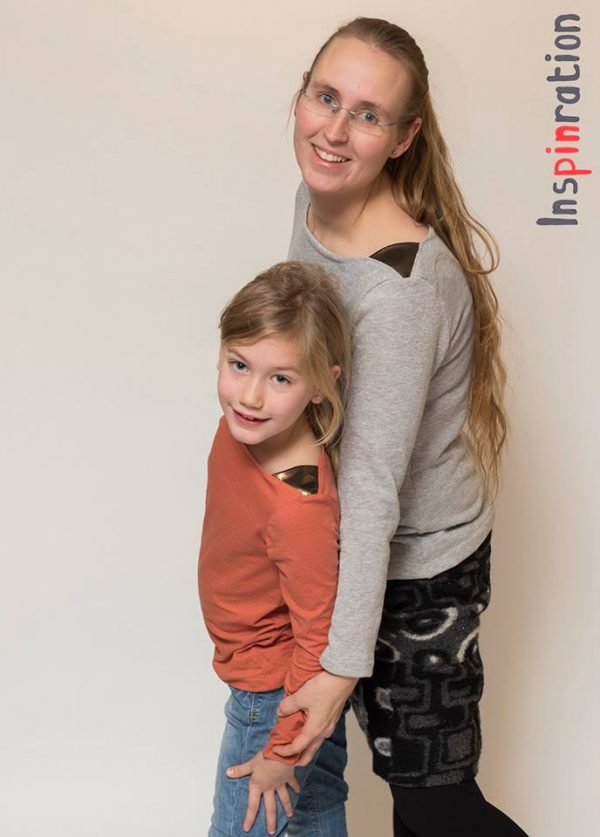 Marlene and Miss Marlene: german pdf pattern for a top with shoulder insets in english translation