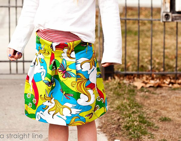 Näh-Connection Shop: Lina Tee and Antje Skirt PDF Patterns