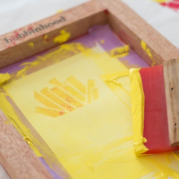 French Fries and 3 tips for successful screenprinting