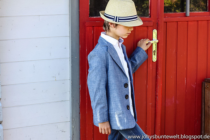Näh-Connection | Boys will be Boys Schnittpaket: Basic Blazer von Blank Slate Patterns genäht von Johys bunte Welt