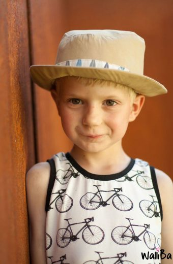 Näh-Connection | Boys will be Boys Schnittpaket: Fedora Hat von E & E Patterns von genäht von Walliba