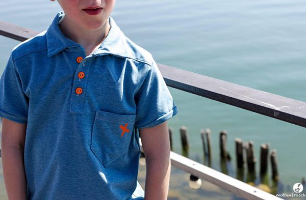 Näh-Connection | Boys will be Boys Schnittpaket: Perfect Polo von Blank Slate Patterns genäht von mottenfrosch