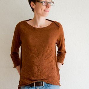 Näh-Connection: Newport Top (Ebook von Itch to Stitch, auf Deutsch im Näh-Connection Shop) genäht von Brülläffchen