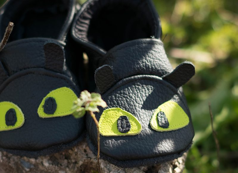 Toothless Wild Things Baby Shoes